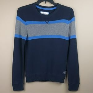 Aeropostale blue & gray sweater